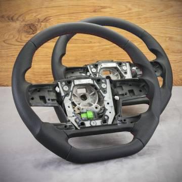 LKW-Lenkrad der Marke Volvo FH modifizieren und neu beziehen