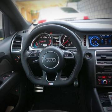 Audi Q7 S-line Lenkrad neu beziehen